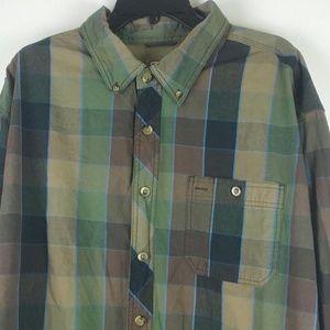 C.E. Schmidt Workwear Button Front Shirt Size 2XL